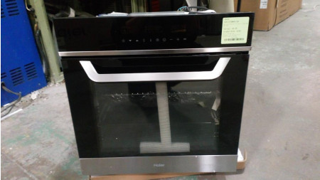Haier HOX-D10NW4X 60cm Stainless Steel 76 Litre Built in Electric Single Oven