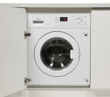 Smeg WDI147D-1 60cm White Cucina Fully Integrated 7kg Washer and a 4kg Dryer