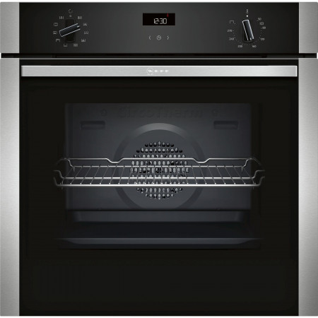 Neff B1ACE2AN0 60cm Stainless Steel Built in Electric Single Oven