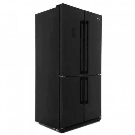 Smeg FQ60NPE 92cm Black Frost Free with Multi Zone Compartment and LCD Touch Display American Fridge Freezer