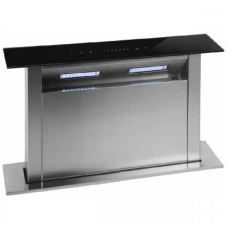 Montpellier DDCH60 60cm Downdraft Cooker Hood in Stainless Steel