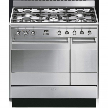 Graded Smeg SUK92MX9 90cm St/Steel Cooker (JUB-9199)