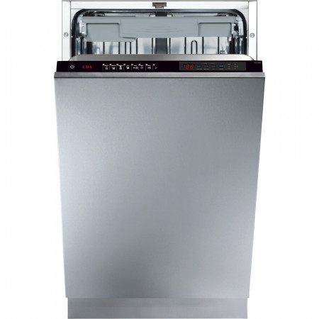 CDA WC480 45cm Built In Fully Integrated Slimline Dishwasher