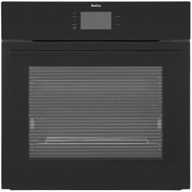 Graded Amica 1143.3TfB 60cm Black Built In Single Electric Oven (CD-190)