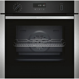 Graded Neff B2ACH7HN0B 60cm Stainless Steel Single Built in Electric Oven (B-17501)