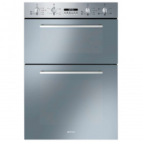 Graded Smeg DOSF44X 60cm Stainless Steel Built in Electric Double Oven (JUB-27337)