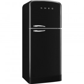 Smeg FAB50RBL Black Fridge Freezer