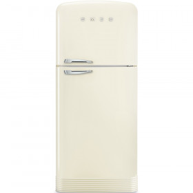 Graded Smeg FAB50RCR Cream Fridge Freezer with Right Hand Hinge (JUB-20321)