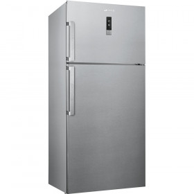 Graded Smeg FD54PXNE4 81cm St.Steel Top Mount Frost Free Fridge Freezer (JUB-21902)