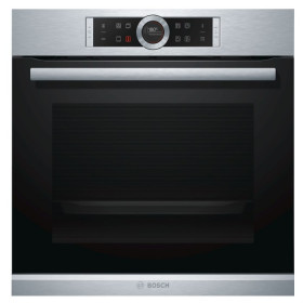 Graded Bosch HBG674BS1GB 60cm St.Steel Pyrolytic Built-in Single Oven (B-13401)
