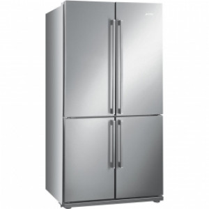 Smeg FQ60XP 92cm Stainless Steel Four Door American Fridge-Freezer