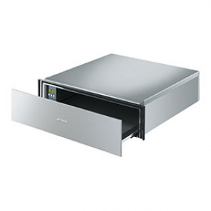 Smeg CTP15X 55cm Wide 15cm High Stainless Steel Warming Drawer
