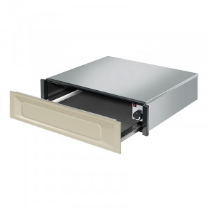 SMEG CTP9015P 15cm Warming Drawer in Cream (JUB-5787)