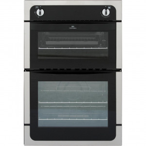 Graded NEW WORLD NW901G 60cm St/Steel Built in Double Gas Oven (CC-334)