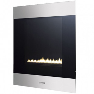Smeg P23CL 'Classic' Stainless Steel FASCIA Portrait Natural Gas Fire