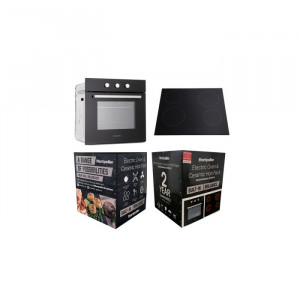 Montpellier SFCP10 Montpellier Built In Oven And Ceramic Hob Pack