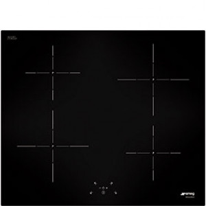 Graded Smeg SI5643D 60cm Black Glass Touch Control Induction Hob