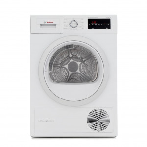 Graded Bosch WTW85492GB 60cm White 8kg Tumble Dryer with Heat Pump