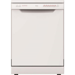 Amica ZWM696W 60cm Full Size White 12 Place Setting Freestanding Dishwasher