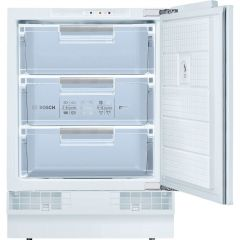 Graded Bosch GUD15AFF0G 60cm White Integrated Under Counter Freezer (B-6911)