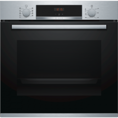 Graded Bosch HBS534BS0B 60cm Stainless Steel Built in Single Oven (B-8131)