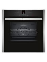 Graded Neff B57CR22N0B 60cm Stainless Steel Slide & Hide Single Pyrolytic Oven (B-7935)