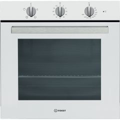 Indesit IFW6230WHUK 60cm Electric Single Built-in Oven in White