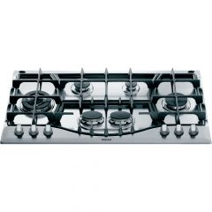 Graded Hotpoint PHC961TSIXH 90cm Stainless Steel 6 Burner Gas Hob