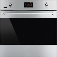 Graded Smeg SFP6303WTPX 60cm Stainless Steel Built In Electric Single Oven (JUB-1301)