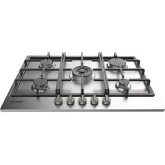 Graded Indesit THP751WIXI 60cm Gas Hob in Stainless Steel